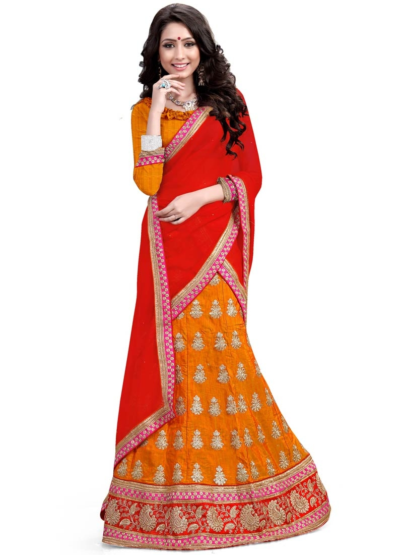 Preferable Stone And Resham Work Designer Lehenga Choli