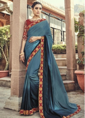 Prepossessing Art Silk Trendy Classic Saree