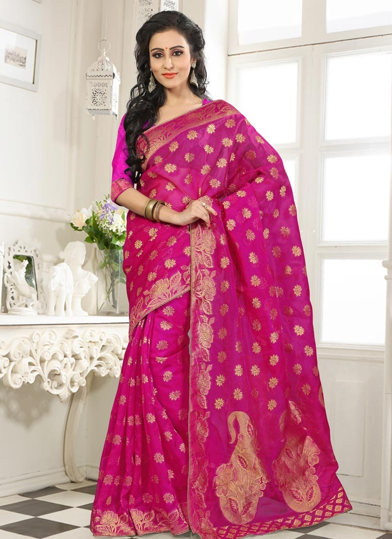 Prepossessing Banarasi Party Wear Saree