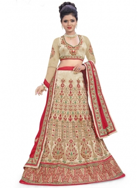 Prepossessing Booti Work Trendy Lehenga Choli For Festival