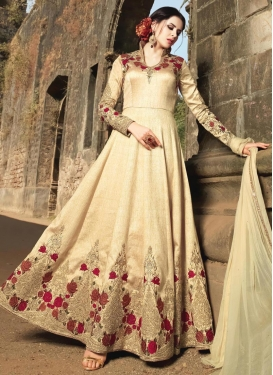 Prepossessing Long Length Designer Anarkali Suit