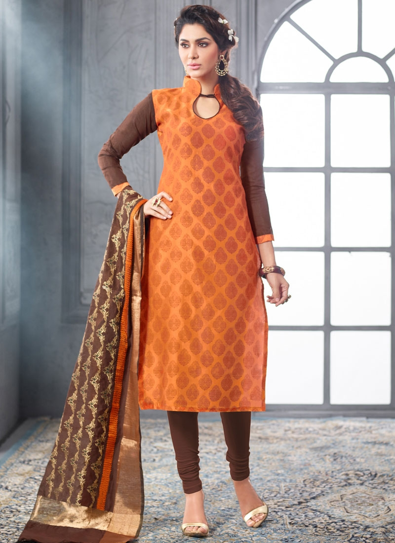 Prepossessing Printed Casual Salwar Kameez