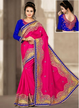 Pretty Silk Designer Traditional Saree