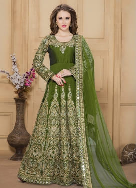Prime Floor Length Anarkali Salwar Suit For Festival