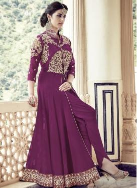 Princely Booti Work  Designer Salwar Suit