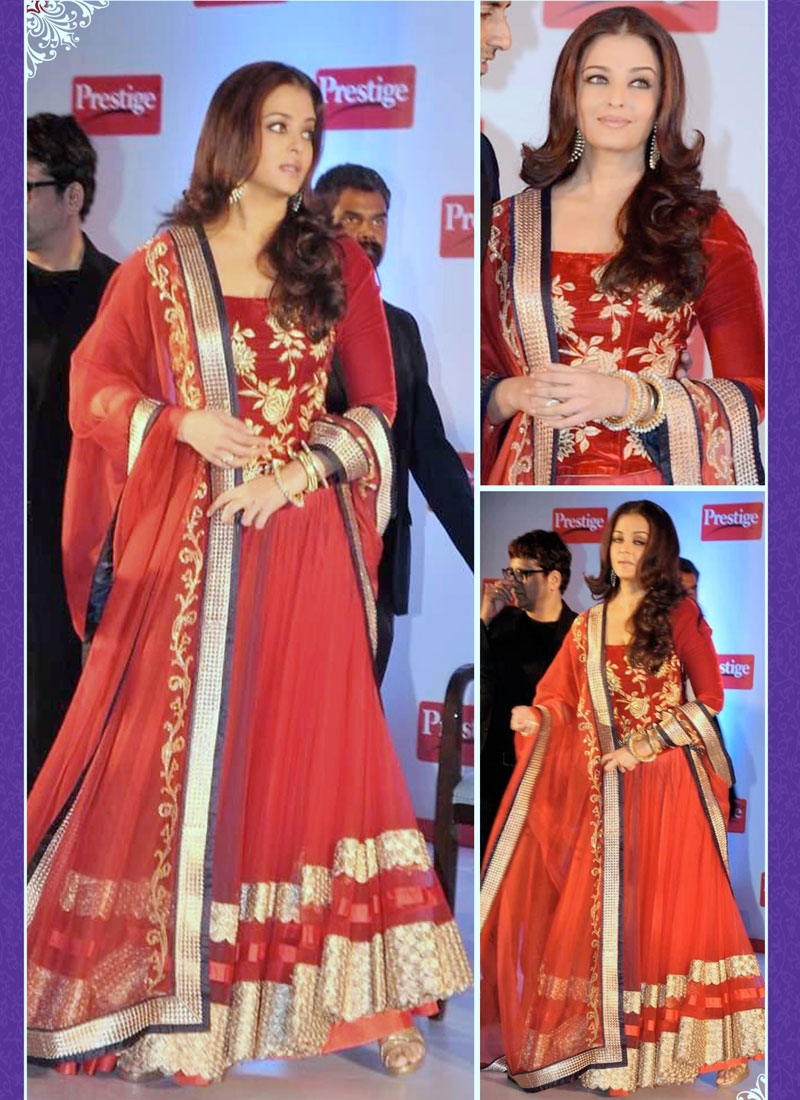 Princely Multi And Resham Work Aishwarya Rai Designer Lehenga Choli