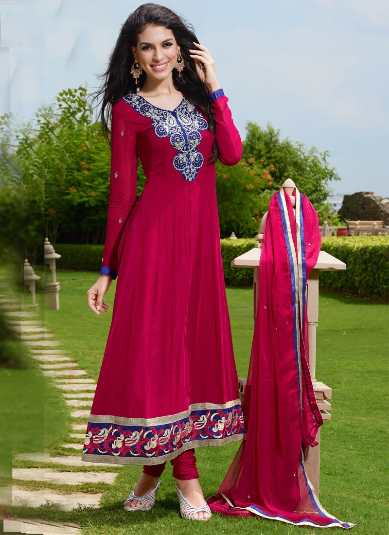 Princely Pure Georgette Party Wear Suit