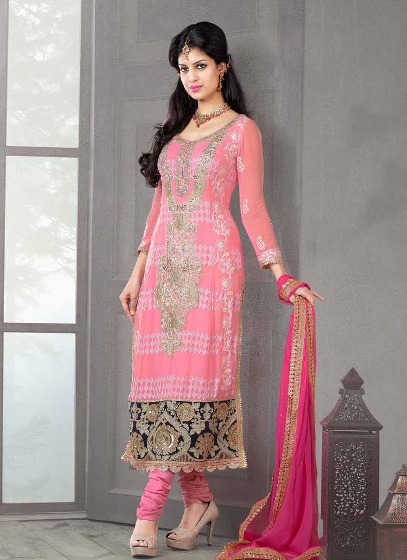 Princely Sequins Enhanced Party Wear Salwar Suit