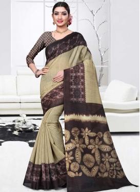 Print Work Traditional Designer Saree