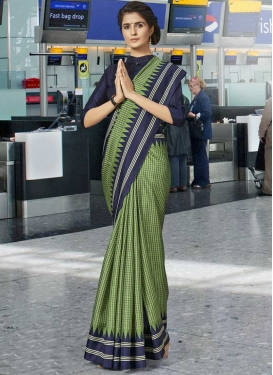 Print Work Trendy Classic Saree For Casual