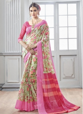 Pristine  Art Silk Traditional Saree For Casual