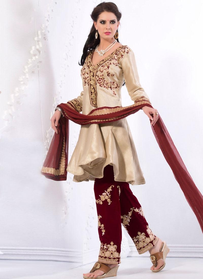 Pristine Resham Work Pant Style Designer Salwar Suit