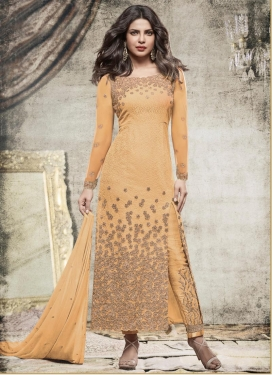 Priyanka Chopra Net Pant Style Designer Suit
