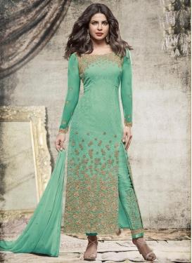 Priyanka Chopra Pant Style Classic Salwar Suit