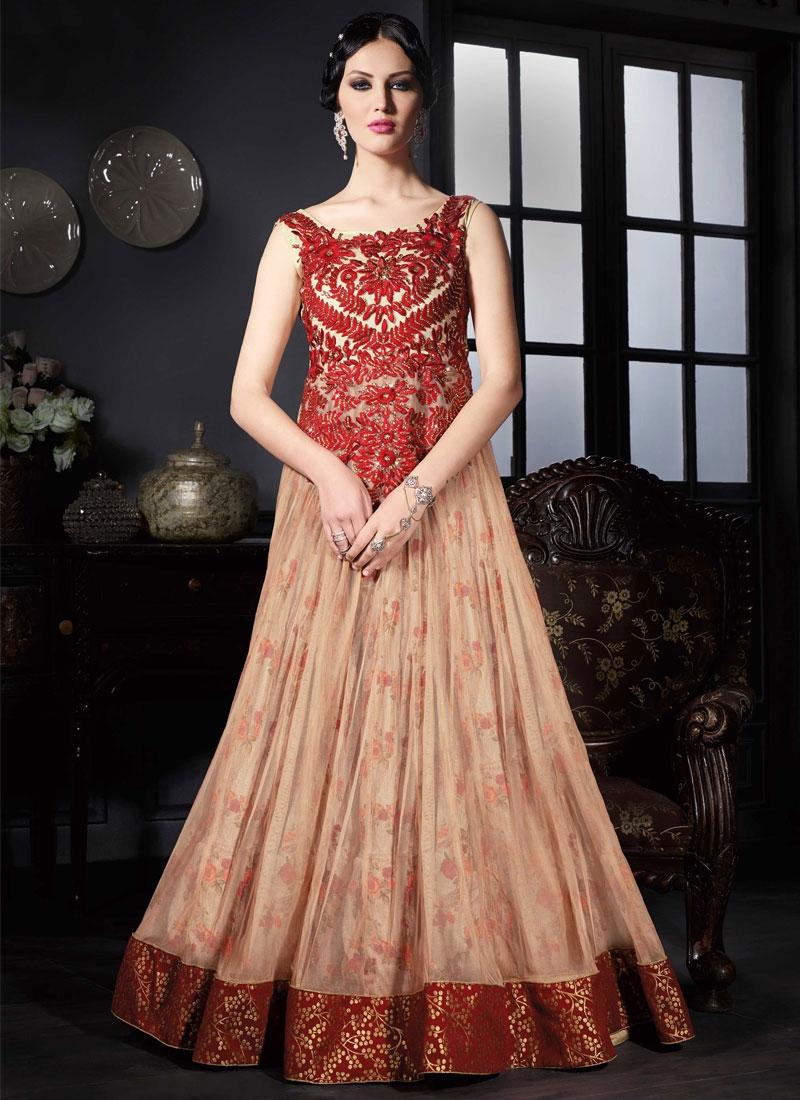 Prodigious Stone Work Floor Length Designer Salwar Suit