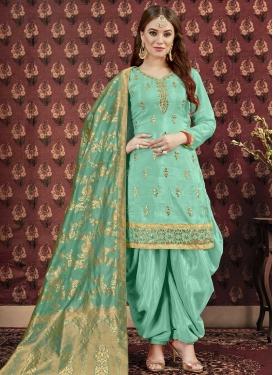 Punjabi Salwar Suit For Festival