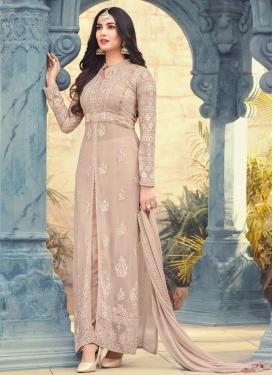 Pure Georgette Booti Work Trendy Salwar Kameez