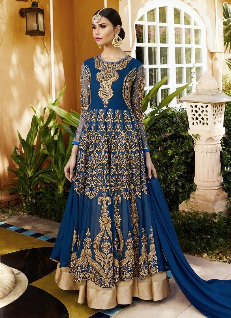 Pure Georgette Designer Kameez Style Lehenga Choli