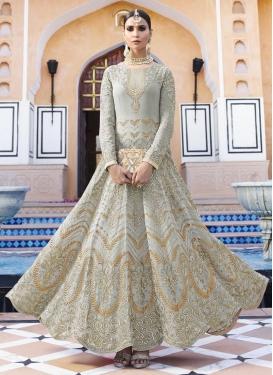 Pure Georgette Flaring Anarkali Salwar Suit