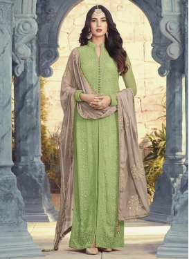 Pure Georgette Long Length Pakistani Salwar Suit For Festival