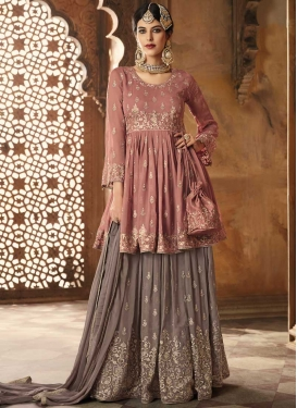 Pure Georgette Palazzo Designer Salwar Suit