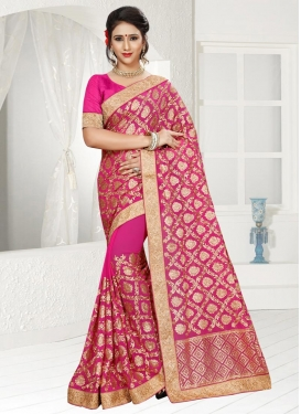 Pure Georgette Trendy Classic Saree For Ceremonial