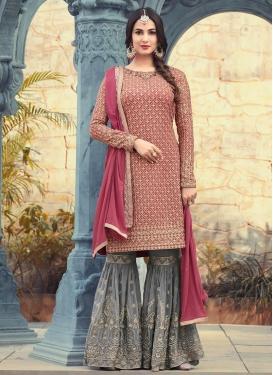 Pure Georgette Trendy Designer Salwar Kameez
