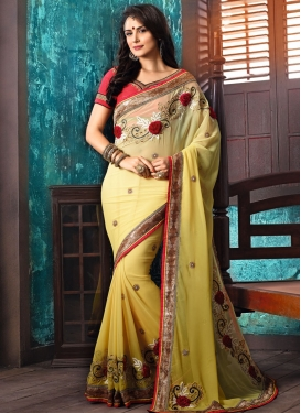 Pure Georgette Trendy Designer Saree