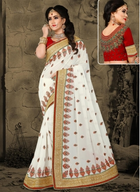 Pure Georgette Trendy Saree
