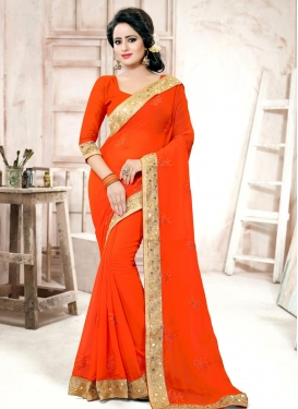 Radiant  Contemporary Saree