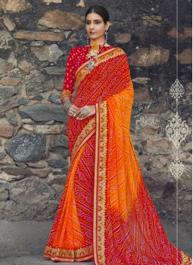 Radiant  Contemporary Style Saree
