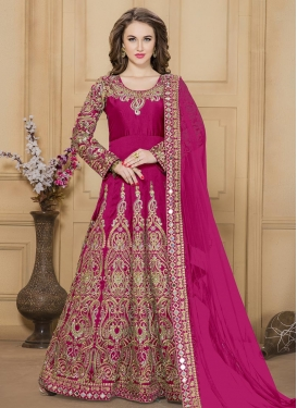 Radiant Floor Length Anarkali Salwar Suit For Festival