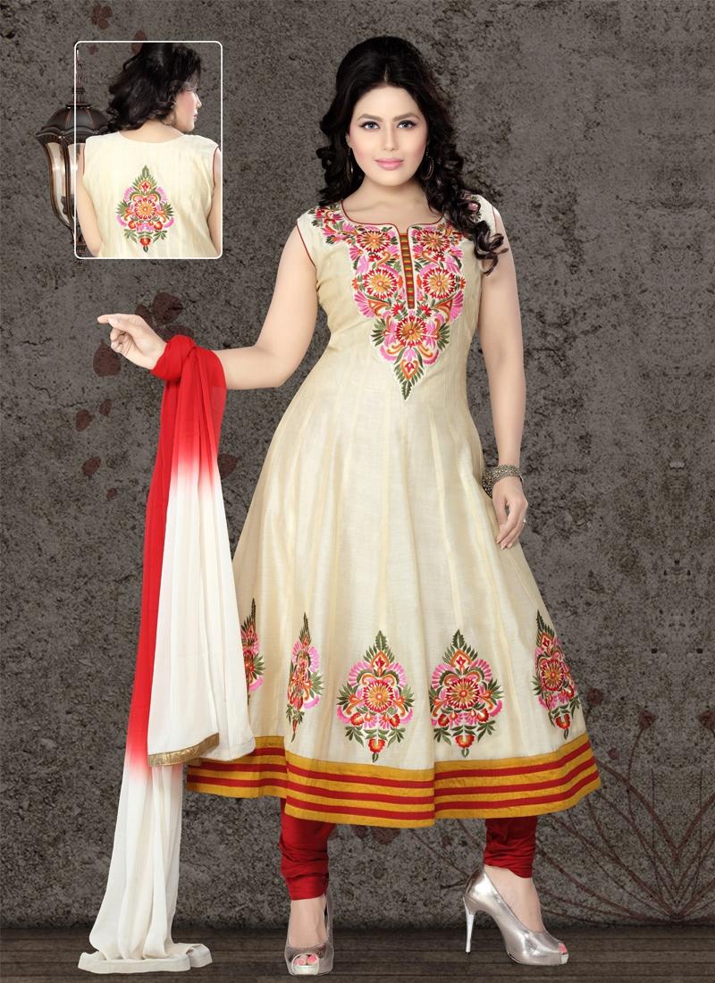 Ravishing Chanderi Cotton Silk Readymade Suit
