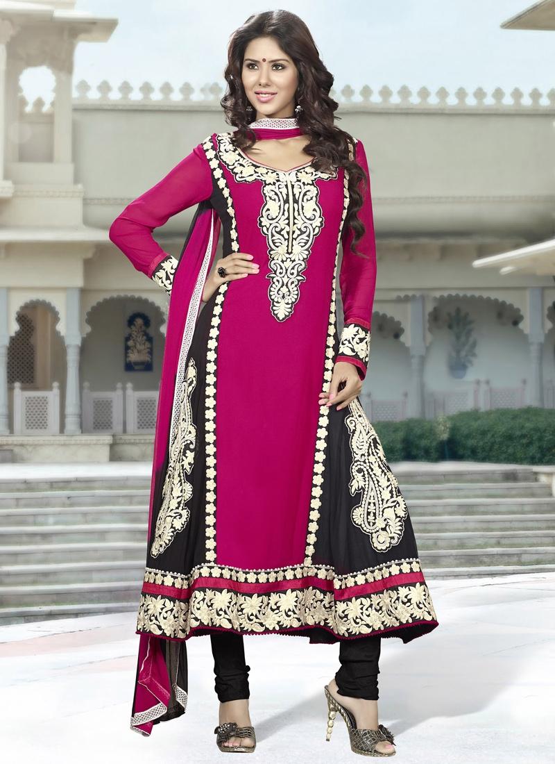 Ravishing Karachi Enhanced Party Wear Suit
