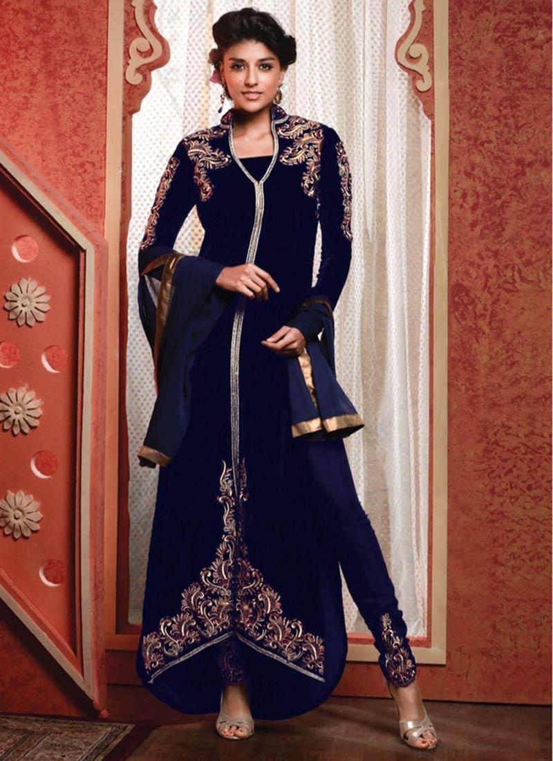 Ravishing Resham And Booti Work Designer Suit