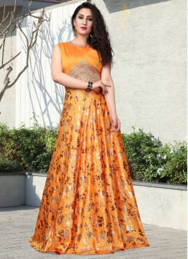 Readymade Classic Gown For Ceremonial