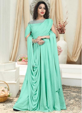 Readymade Long Length Gown For Ceremonial