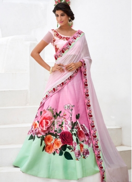 Refreshing  Silk Designer Lehenga Choli For Ceremonial
