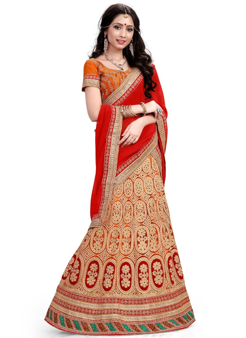 Refreshing Stone Work Net Wedding Lehenga Choli
