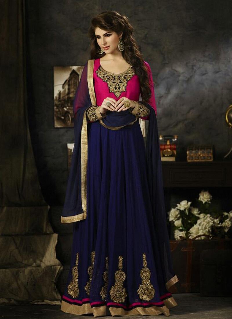Regal Booti Work Long Length Designer Salwar Suit