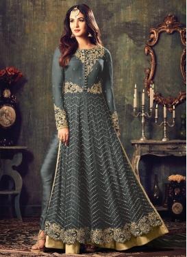 Regal Net Pant Style Designer Salwar Kameez For Festival
