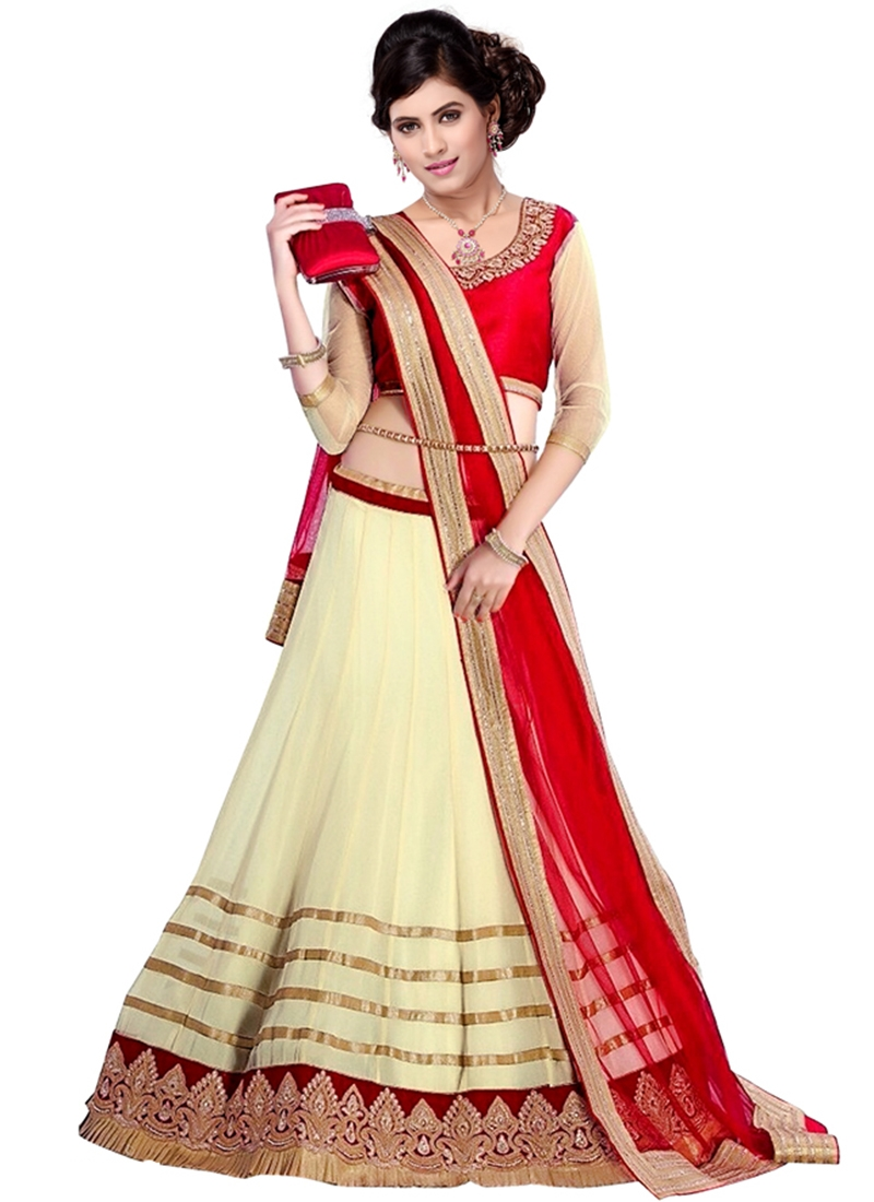 Renowned Lace Work Party Wear Lehenga Choli