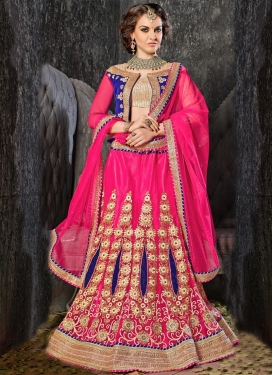 Renowned Resham And Stone Work Designer Lehenga Choli