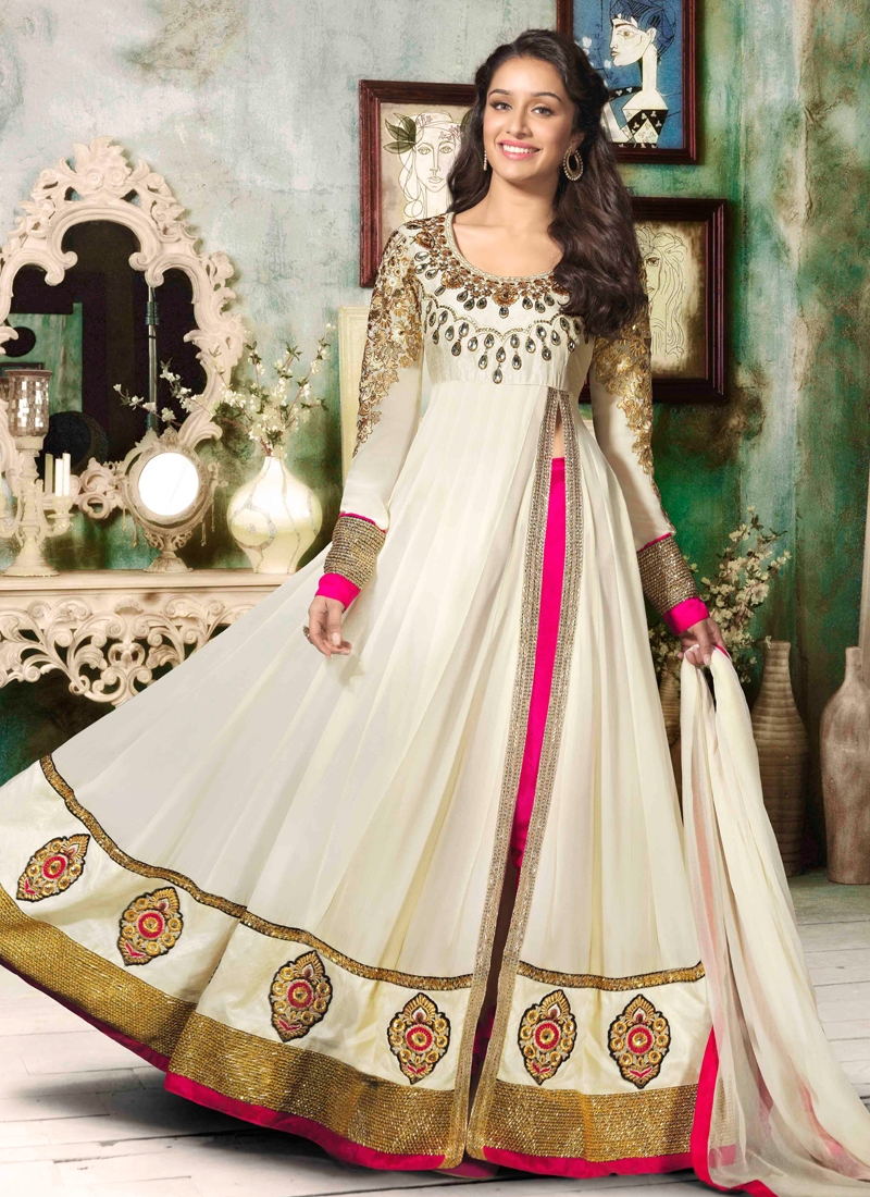Resham And Stone Work Designer Salwar Suit
