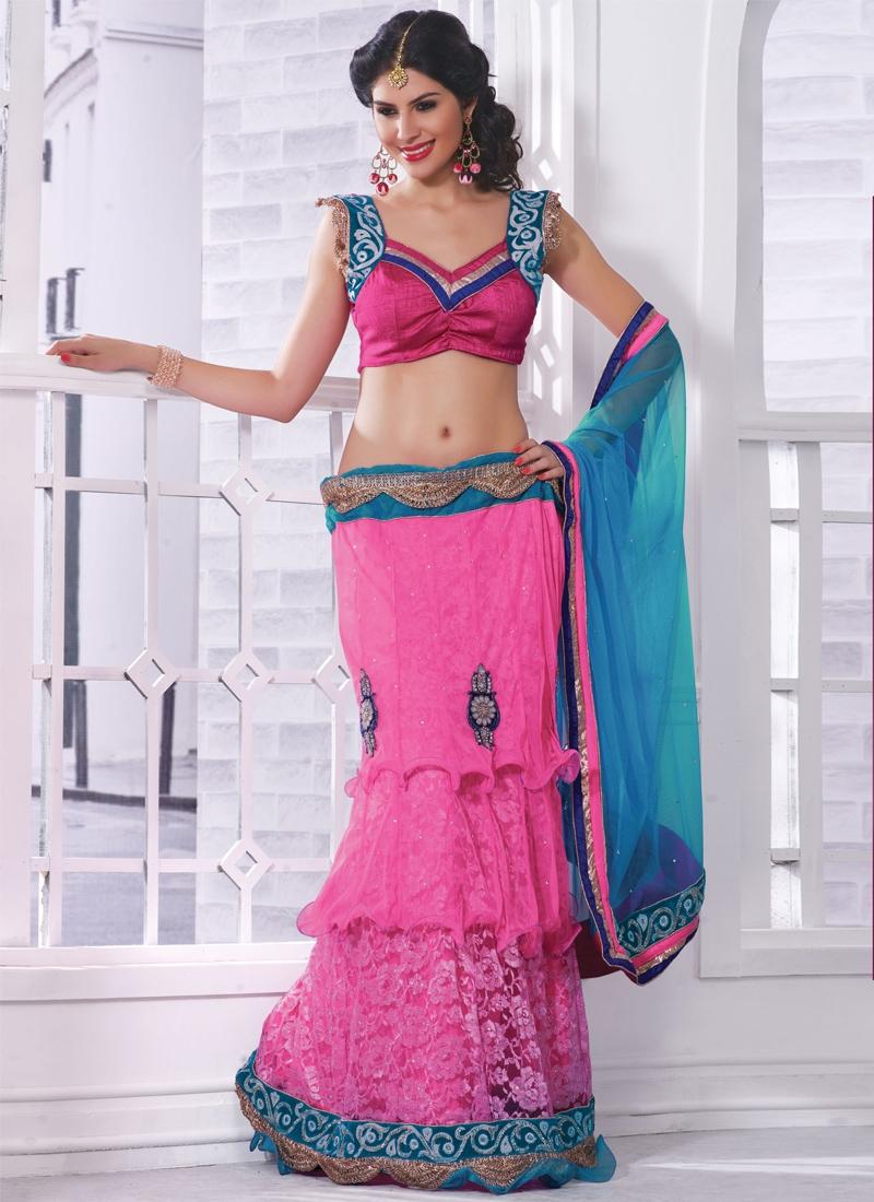 Resham Enhanced Designer Lehenga Choli