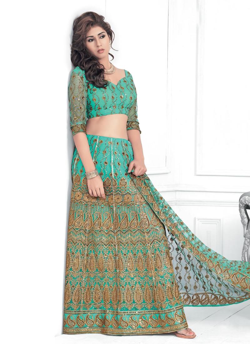 Resham Enhanced Party Wear Lehenga Choli