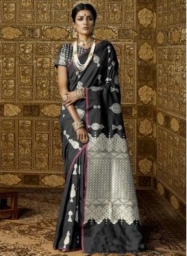 Resham Work Classic Saree