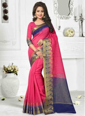 Resham Work Traditional Saree For Ceremonial