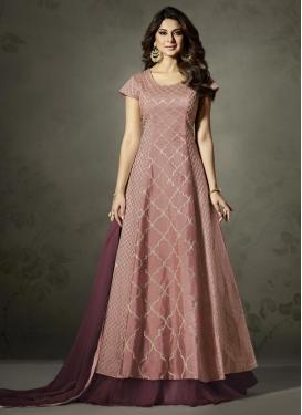 Resham Work Trendy Designer Salwar Kameez