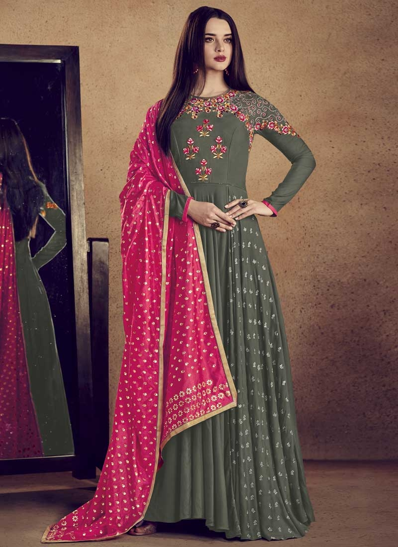 Reyon Readymade Classic Gown For Festival